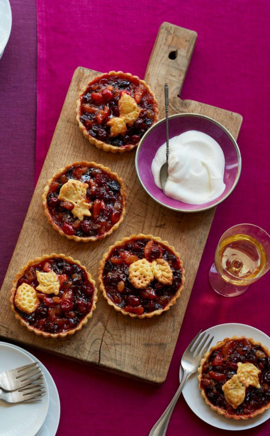 "<p>Cheddar cheese gives these adorable holiday tarts an unexpected burst of savory flavor.</p><p><strong><em><a href=""https://www.womansday.com/food-recipes/food-drinks/recipes/a12187/mini-mince-tarts-cheddar-crusts-recipe-wdy1113/"" rel=""nofollow noopener"" target=""_blank"" data-ylk=""slk:Get the Mini Mince Tarts with Cheddar Crusts recipe."" class=""link rapid-noclick-resp"">Get the Mini Mince Tarts with Cheddar Crusts recipe. </a></em></strong></p>"