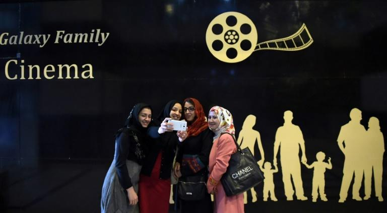 Kabul's new family-friendly cinema is one of the few places where women, usually confined to the home, can spend time in public with their husbands and children