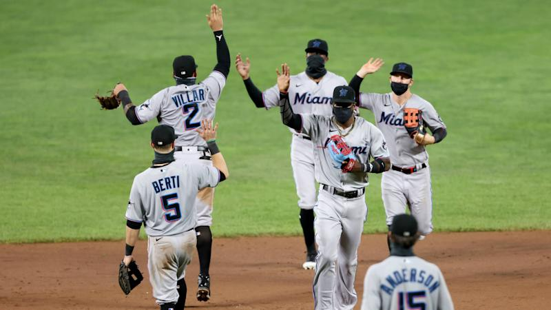 Who are these makeshift Marlins and how are they leading the NL East?