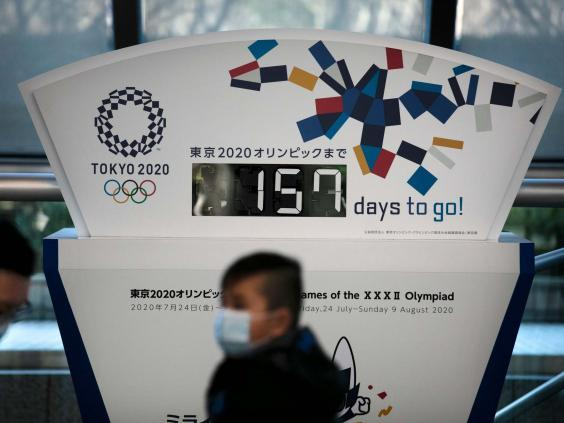 Japan insists plans for the Tokyo 2020 Olympics are going ahead as planned (AP)