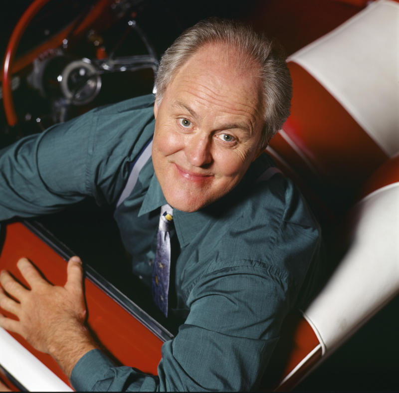3RD ROCK FROM THE SUN -- Season 3 -- Pictured: John Lithgow as Dr. Dick Solomon (Photo by Chris Haston/NBCU Photo Bank/NBCUniversal via Getty Images via Getty Images)