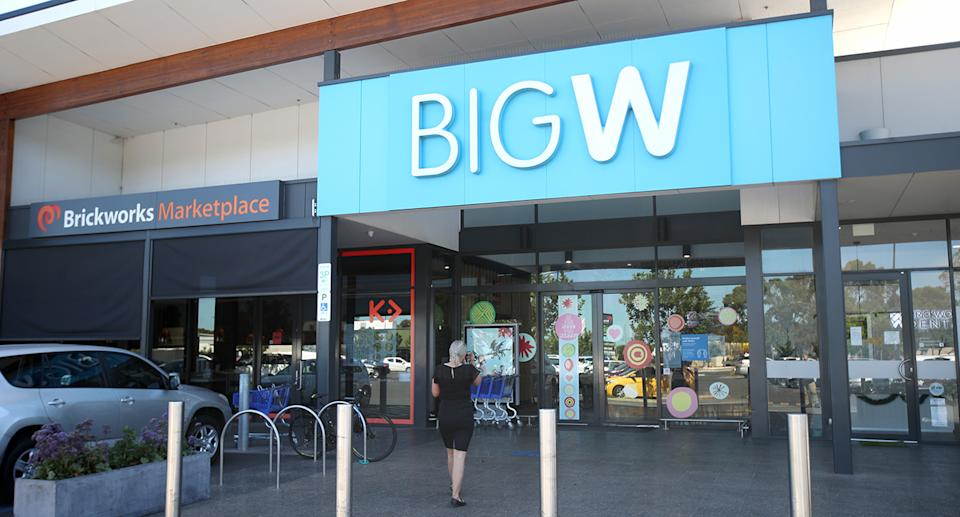 Big W has issued a simple explanation to clear up customer confusion. Source: AAP