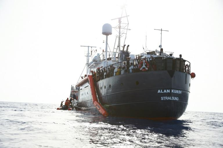 The Alan Kurdi has rescued hundreds of migrants shipwrecked in the Mediterranean