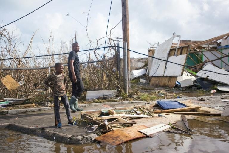 Across Saint Martin, roofs were ripped off, windows blown out, cars and boats tossed about like matchsticks