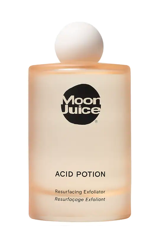 """<p><strong>Moon Juice</strong></p><p>sephora.com</p><p><strong>$42.00</strong></p><p><a href=""""https://go.redirectingat.com?id=74968X1596630&url=https%3A%2F%2Fwww.sephora.com%2Fproduct%2Fbeauty-shroom-exfoliating-acid-potion-P435800&sref=https%3A%2F%2Fwww.marieclaire.com%2Fbeauty%2Fg35567295%2Fglycolic-acid-toners%2F"""" rel=""""nofollow noopener"""" target=""""_blank"""" data-ylk=""""slk:SHOP IT"""" class=""""link rapid-noclick-resp"""">SHOP IT</a></p><p>Your skin's moisture barrier protects and keeps your complexion balanced, and this potent blend includes reishi and niacinimides to hydrate and sooth while it exfoliates. </p>"""