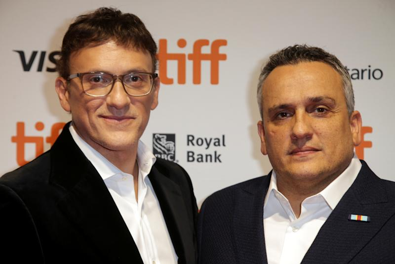 "Producers Joe and Anthony Russo pose during the premiere of ""Mosul"" at the Toronto International Film Festival (TIFF) in Toronto, Ontario, Canada September 9, 2019. REUTERS/Chris Helgren"