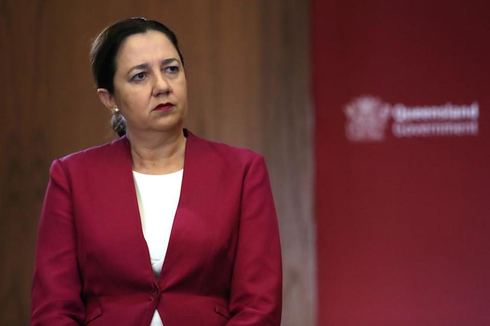Queensland Premier Annastacia Palaszczuk said there are still conditions people have to abide by to enjoy the relaxed restrictions. Source: Getty Images