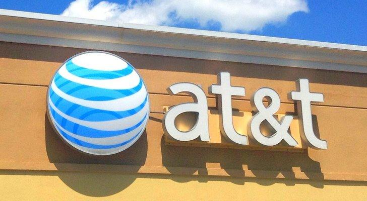 AT&T T stock