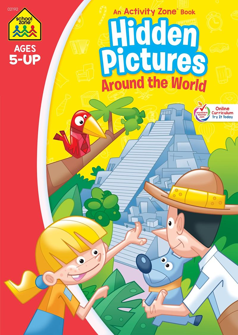 Hidden Pictures Discovery Activity Zone. Image via Amazon.