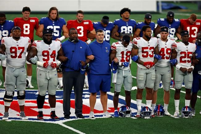 Giants owner Mara hopeful, stands with players on concerns