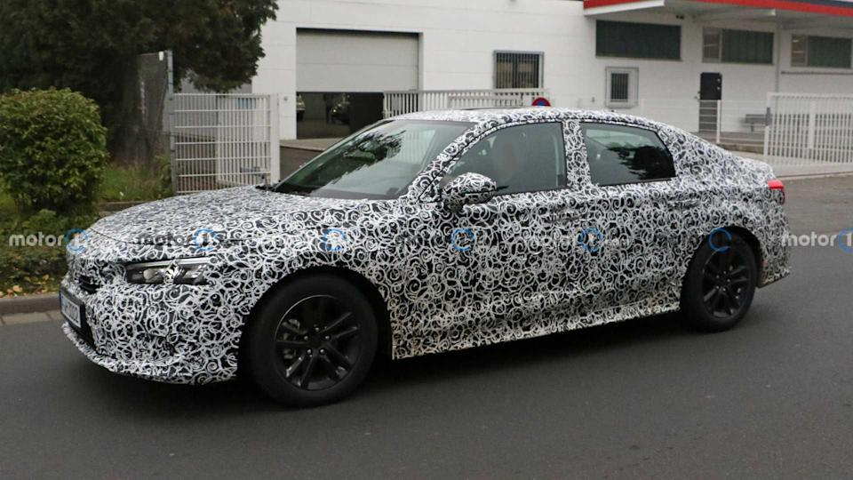 2022 Honda Civic Sedan Spy Fotos
