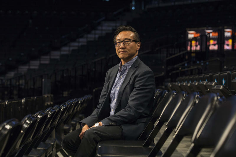 Joseph Tsai, a co-founder of Alibaba, the Chinese e-commerce giant, and owner of the Brooklyn Nets and the New York Liberty basketball teams, in New York, May 9, 2019. (Hiroko Masuike/The New York Times)