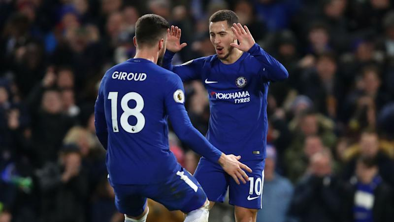 Chelsea 3 West Brom 0: Hazard inspires victory for stumbling champions