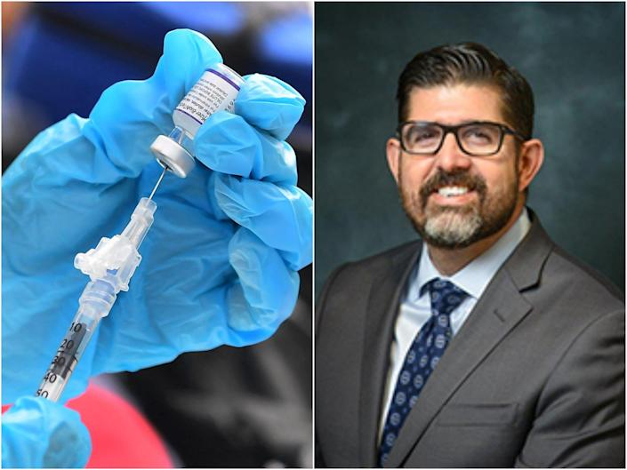 Florida State Senator Manny Diaz has called for the review of all vaccine mandates (Getty / Florida State Senate)