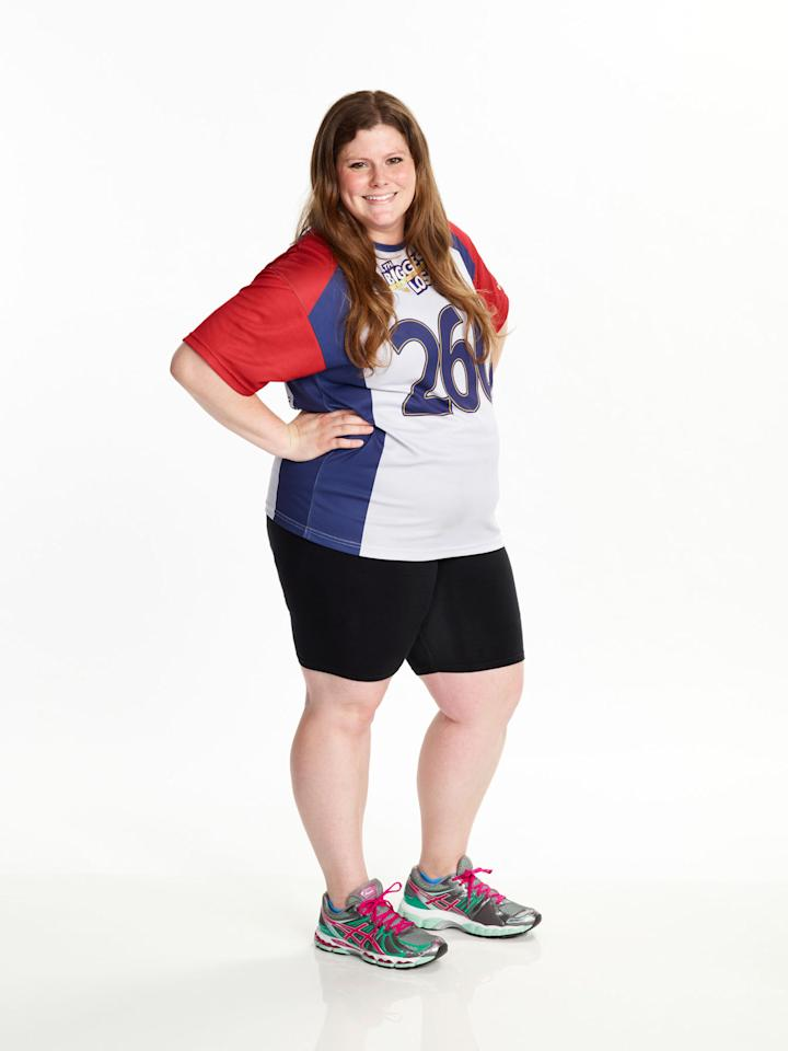 "Rachel Frederickson competes on NBC's ""The Biggest Loser"" Season 15."