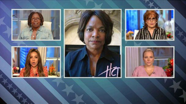 PHOTO: Rep. Val Demings appears on ABC's, 'The View,' June 15, 2020, to talk about the shooting of Rayshard Brooks. (ABC News)