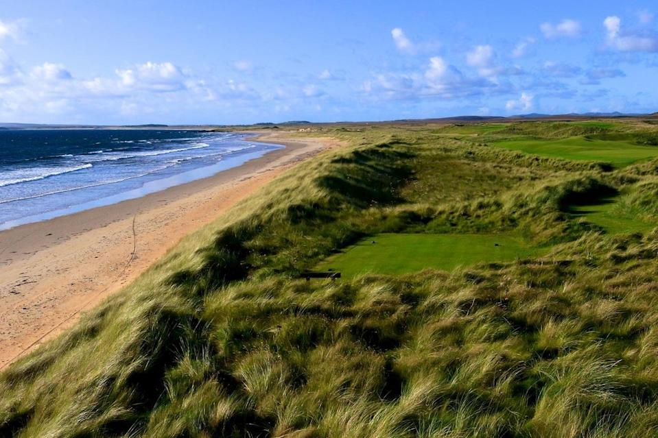 "<p>If it's pristine stretches of sand you're searching for, look no further than the Hebridean Island of Islay. The island's impressive 130 miles of coastline offers the opportunity to spot a host of wildlife such as seals, otters, deer, puffins and sea eagles. </p><p>There are 200 difference species of birds, and carefully curated trails for those wishing to spot these magnificent creatures. Islay also lies within the Hebridean Whale Trail; you can explore Islay's surrounding ocean via boat or kayak, in search of bottlenose dolphins, minke whales, basking sharks and orcas. There's also a brilliant golf course with ocean views as a backdrop.</p><p><strong>Where to stay:</strong> The beachfront <a href=""https://go.redirectingat.com?id=127X1599956&url=https%3A%2F%2Fwww.booking.com%2Fhotel%2Fgb%2Fmachrie-amp-golf-links-port-ellen.en-gb.html%3Faid%3D2070935%26label%3Dscotland-staycations&sref=https%3A%2F%2Fwww.countryliving.com%2Fuk%2Ftravel-ideas%2Fstaycation-uk%2Fg34614070%2Fscotland-staycation%2F"" rel=""nofollow noopener"" target=""_blank"" data-ylk=""slk:Machrie Hotel"" class=""link rapid-noclick-resp"">Machrie Hotel </a>is set in the dunes of Islay on a seven-mile stretch of golden sands. It's connected to a private footpath which takes you on beautiful oceanic walks to hidden coves and beaches. There are over 70 walking or cycling routes along the coast, inland, uphill or through the mountains. It's family and dog-friendly, too.</p><p><a class=""link rapid-noclick-resp"" href=""https://go.redirectingat.com?id=127X1599956&url=https%3A%2F%2Fwww.booking.com%2Fhotel%2Fgb%2Fmachrie-amp-golf-links-port-ellen.en-gb.html%3Faid%3D2070935%26label%3Dscotland-staycations&sref=https%3A%2F%2Fwww.countryliving.com%2Fuk%2Ftravel-ideas%2Fstaycation-uk%2Fg34614070%2Fscotland-staycation%2F"" rel=""nofollow noopener"" target=""_blank"" data-ylk=""slk:CHECK AVAILABILITY"">CHECK AVAILABILITY</a></p>"