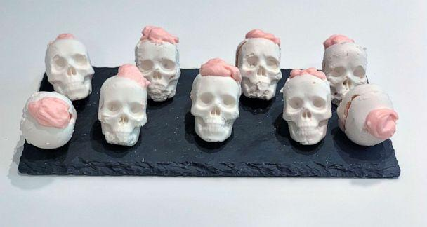 PHOTO: I made chocolate skulls, one of Pinterest's top 10 Halloween recipes. (ABC News)
