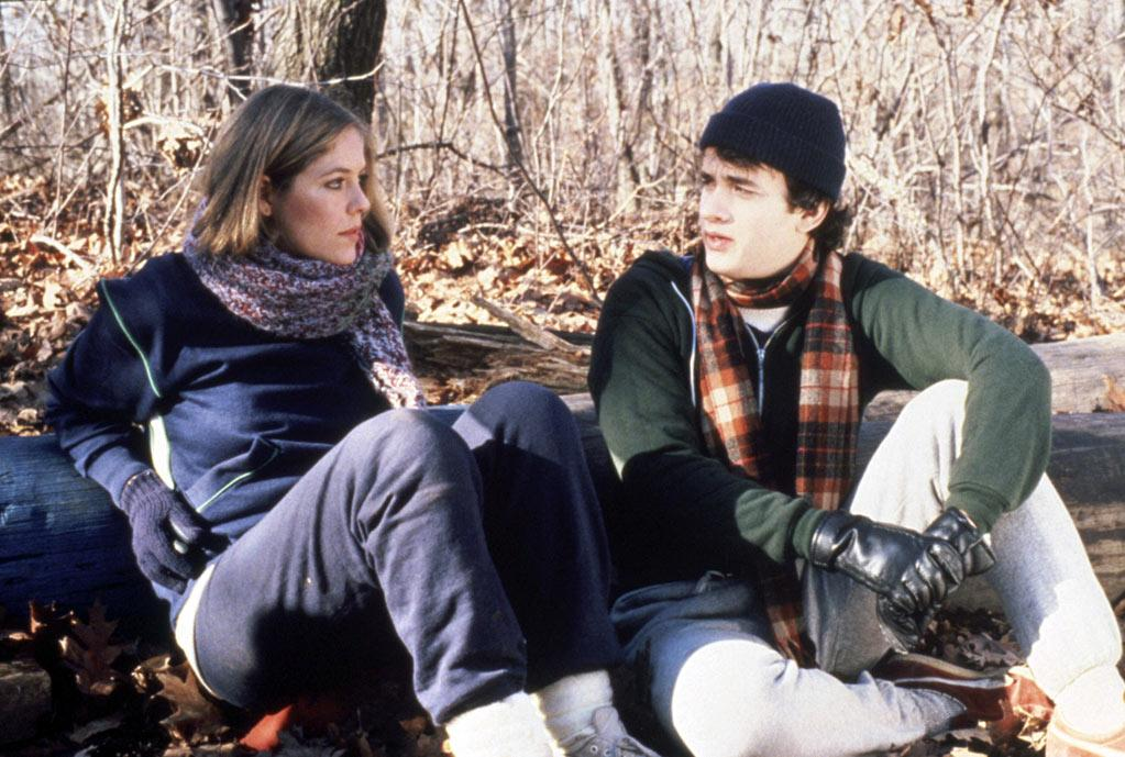 """ACTOR: <a href=""""http://movies.yahoo.com/movie/contributor/1800010392"""">Tom Hanks</a>  MOVIE: """"He Knows You're Alone"""" (1980)    Even back-to-back Oscar winners have to get their start somewhere. Tom Hanks's first screen appearance was in this low-budget slasher that was originally entitled """"Blood Wedding."""" Still, his star power was evident even then. In the script, Hanks's character was supposed to die, but the filmmakers found him so charming they rewrote it, and he survived."""