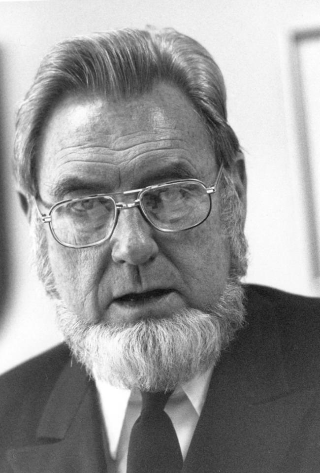 C. Everett Koop, Surgeon General of the United States, 1988. (Photo by PhotoQuest/Getty Images)