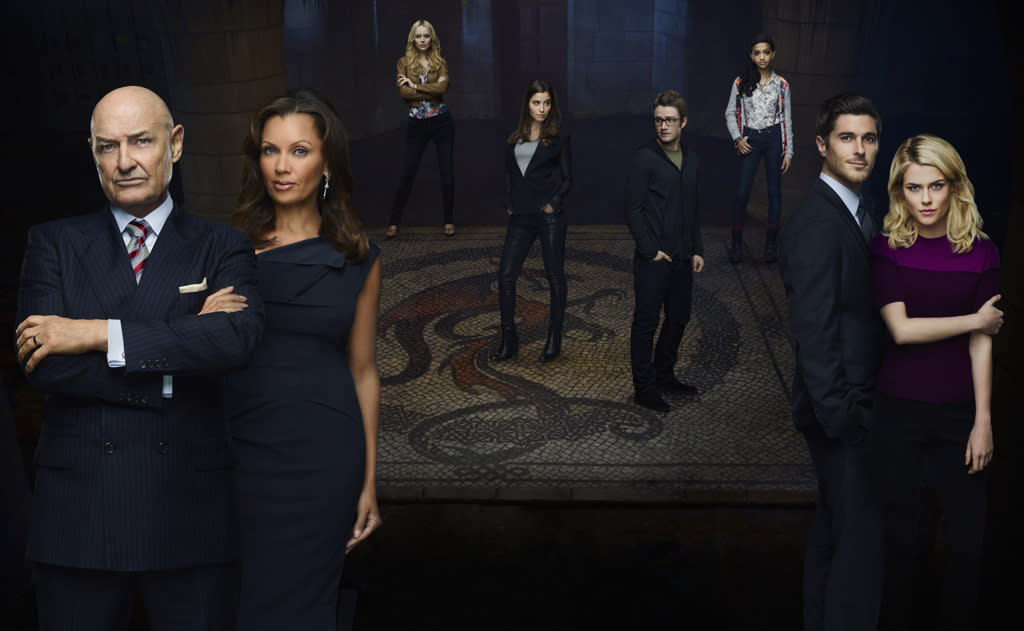 """<b>""""666 Park Avenue"""" (Fall Drama)</b><br><br>At the ominous address of 666 Park Avenue, anything you desire can be yours. Everyone has needs, desires and ambition. For the residents of The Drake, these will all be met, courtesy of the building's mysterious owner, Gavin Doran (Terry O'Quinn). But every Faustian contract comes with a price. When Jane Van Veen (Rachael Taylor) and Henry Martin (Dave Annable), an idealistic young couple from the Midwest, are offered the opportunity to manage the historic building, they not only fall prey to the machinations of Doran and his mysterious wife, Olivia (Vanessa Williams), but unwittingly begin to experience the shadowy, supernatural forces within the building that imprison and endanger the lives of the residents inside. Sexy, seductive and inviting, The Drake maintains a dark hold over all of its residents, tempting them through their ambitions and desires, in this chilling new drama that's home to an epic struggle of good versus evil."""