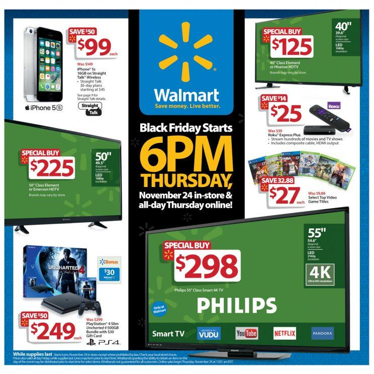 Walmart Black Friday deals smartphone.