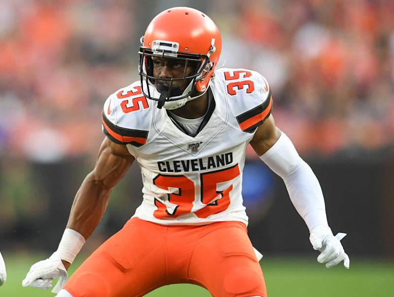 The Browns called Jermaine Whitehead's Twitter outburst 'totally unacceptable and highly inappropriate. (Nick Cammett/Getty)