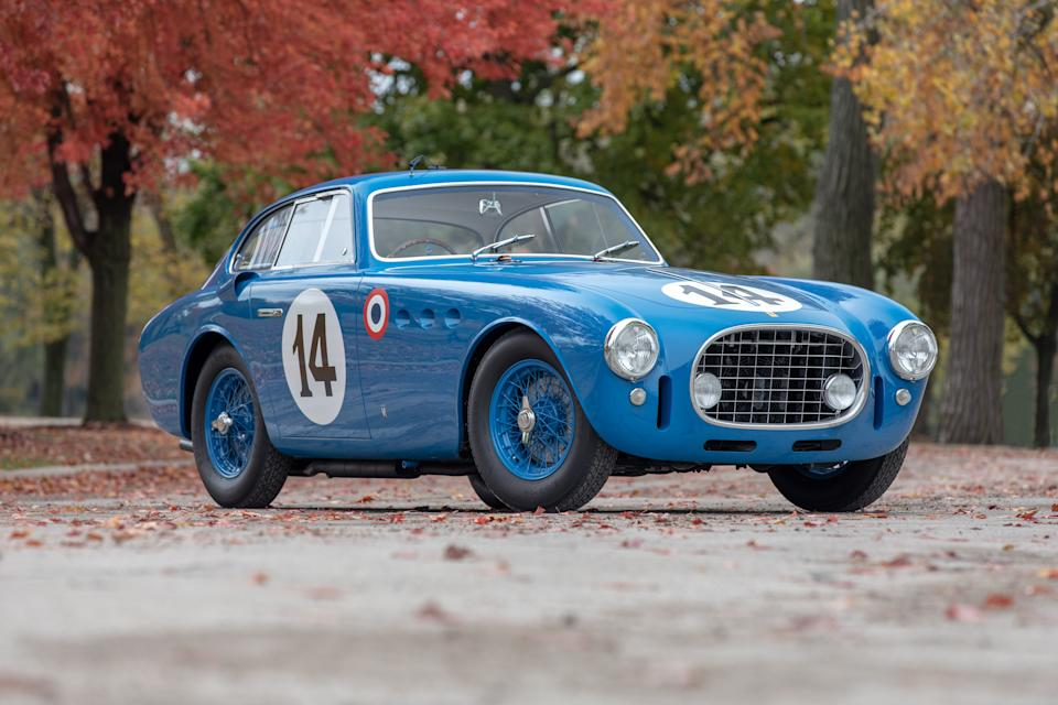 A 1952 Ferrari 340 America could sell for more than $5 million at Mecum's auction in Monterey.