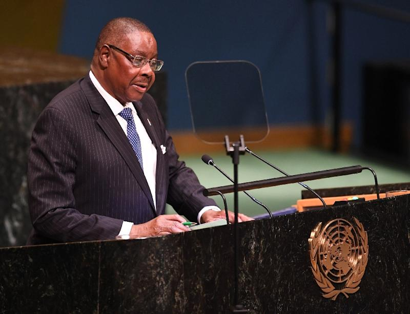 President Peter Mutharika has previously faced criticism from NGOs for  alleged government corruption and incompetence ea7c508c2f