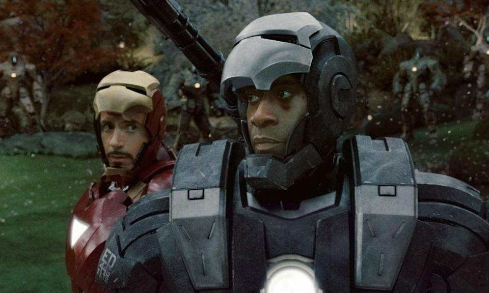 <p><span><strong>Played by:</strong> Don Cheadle</span><br><strong>Last appearance: </strong><i><span>Captain America: Civil War</span></i><br><span><strong>What's he up to?</strong> After taking a hit from Vision during the airport battle and falling to the ground, Rhodey is still recovering from his spinal injury that left him paralysed from the waist down. Tony managed to build a device that would help him to walk again but Rhodes is still struggling to adapt to the equipment. No doubt he's been working tirelessly since then to get back properly on his feet and combat ready.</span><br><br><br></p>
