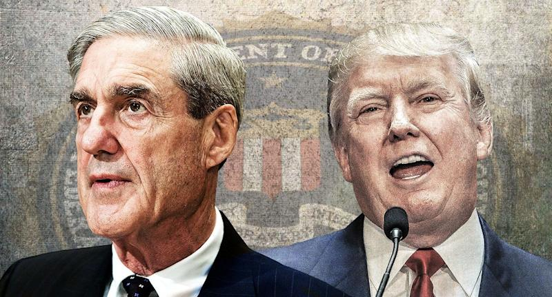 Robert Mueller; Donald Trump: (Photo illustration: Yahoo News; photos: AP (2), Getty Images)