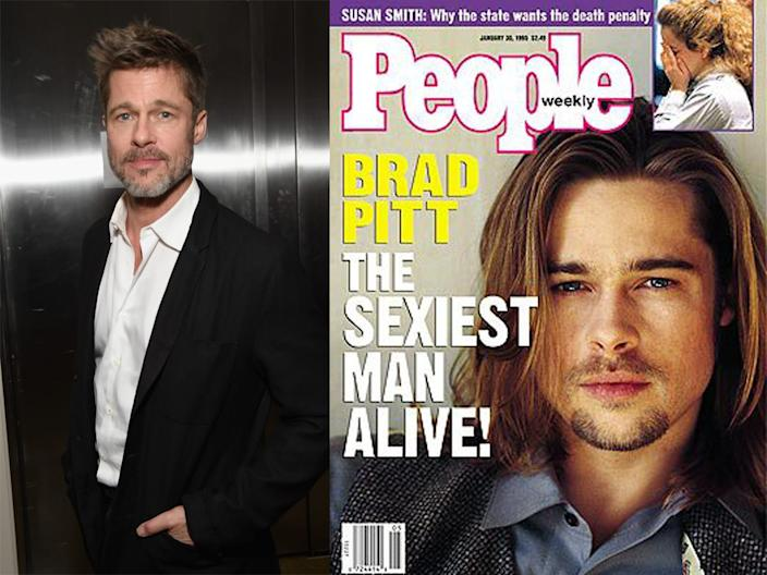brad pitt people sexiest man