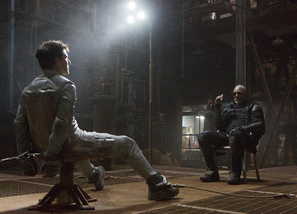 "Tom Cruise and Morgan Freeman in Universal Pictures' ""Oblivion"" - 2013"