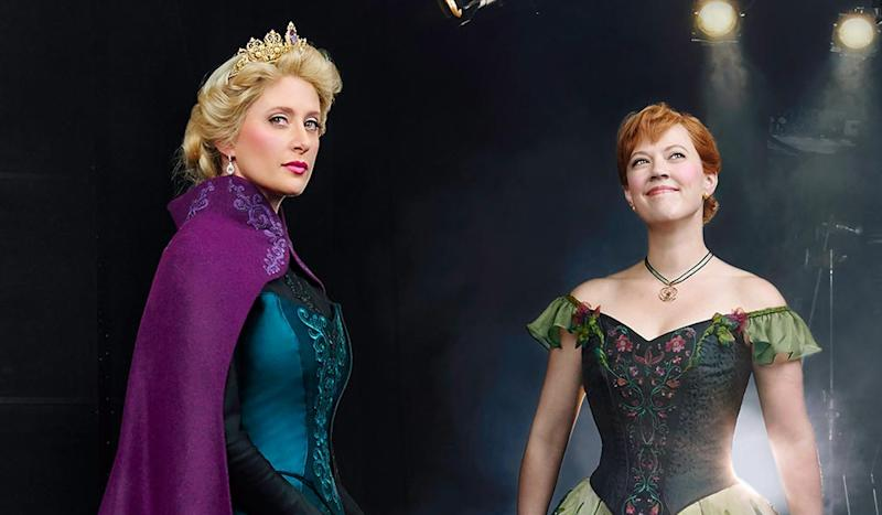Crowds Line Up After Debut To Get 'Frozen' Musical Merchandise