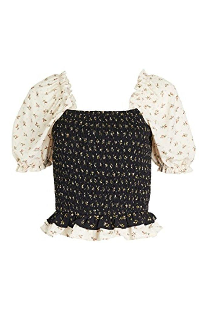 english factory, smocked top, fall 2020 fashion trends