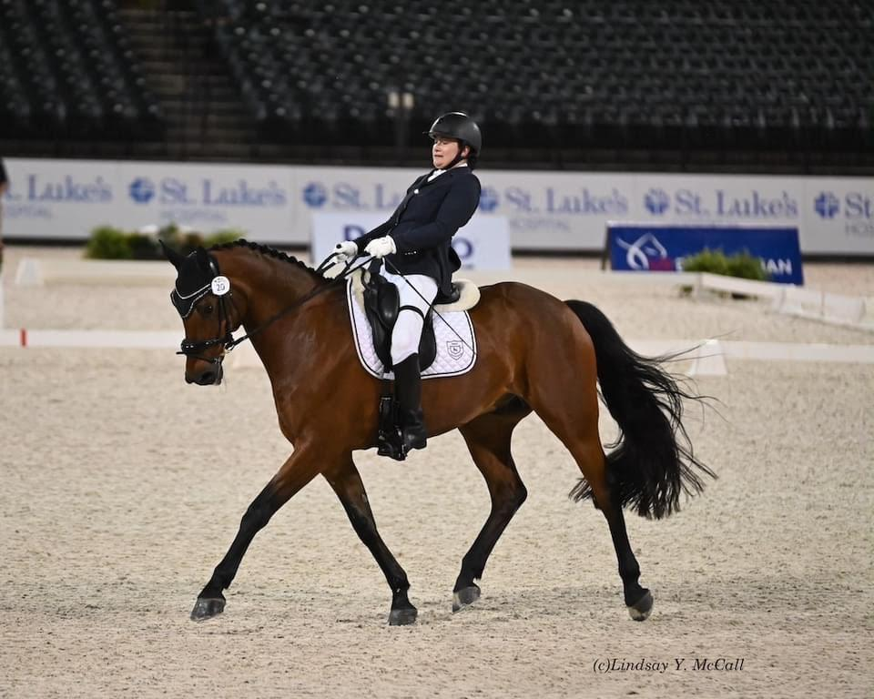 Béa de Lavalette will compete in dressage at the 2020 Paralympic Games in Tokyo. (Photo courtesy of Elizabeth de Lavalette)