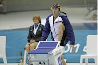 """<p>Phelps didn't become the most successful Olympian of all time without some rituals. The Olympic swimmer was known for <a href=""""https://swimswam.com/michael-phelps-pre-race-routine/"""" rel=""""nofollow noopener"""" target=""""_blank"""" data-ylk=""""slk:eating the same race-day breakfast"""" class=""""link rapid-noclick-resp"""">eating the same race-day breakfast</a> – eggs, oatmeal and four energy shakes – stretching his muscles to limber up, warming up in the water, and then drowning out the crowds with a pre-set playlist. </p>"""