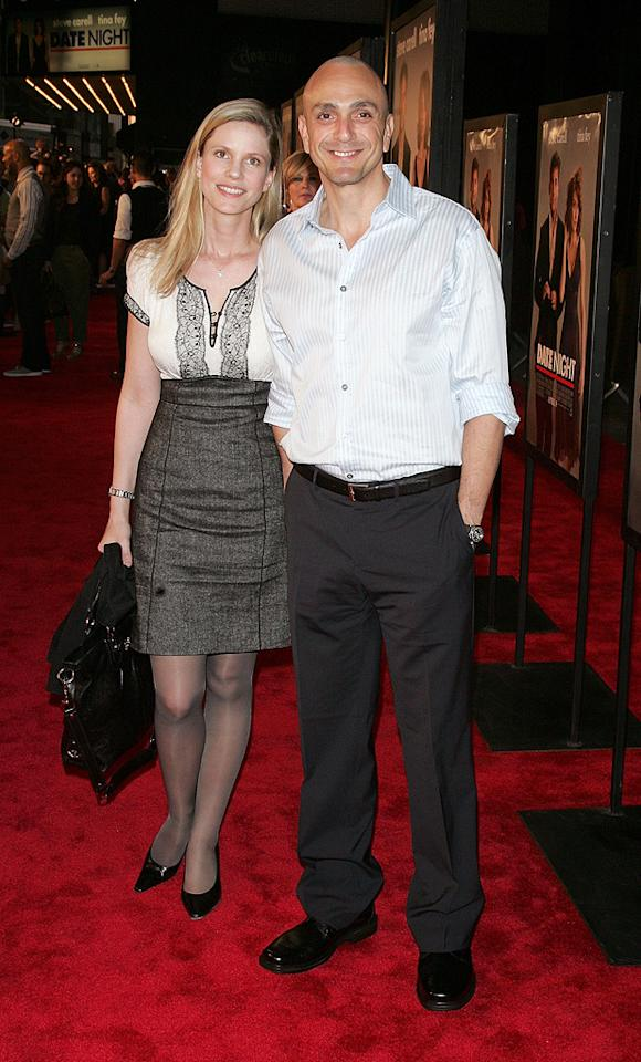 """<a href=""""http://movies.yahoo.com/movie/contributor/1800019189"""">Hank Azaria</a> and guest at the New York City premiere of <a href=""""http://movies.yahoo.com/movie/1810080154/info"""">Date Night</a> - 04/06/2010"""