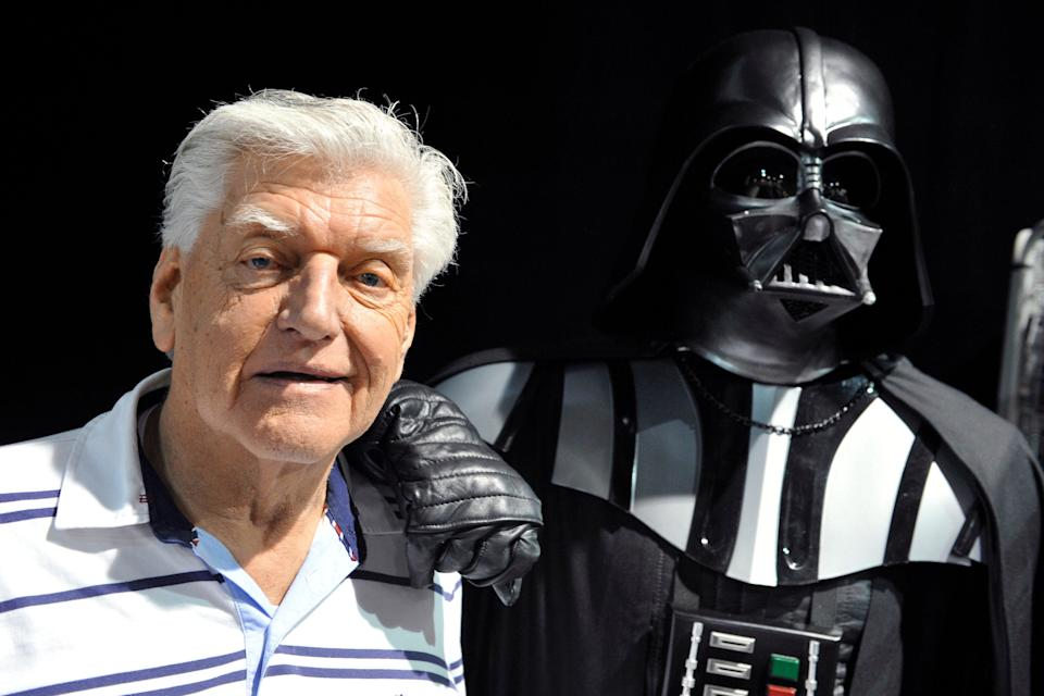 <p>David Prowse played the character of Darth Vader in the first Star Wars trilogy</p> (AFP via Getty Images)