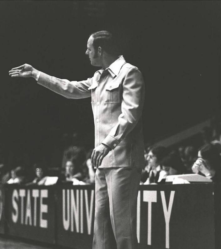 Mickey Wells went 156-91 as Morehead State women's basketball coach (1975-84). That remains the MSU school record for coaching victories by a women's hoops coach.
