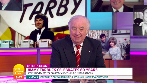 Jimmy Tarbuck has been diagnosed with prostate cancer (ITV)
