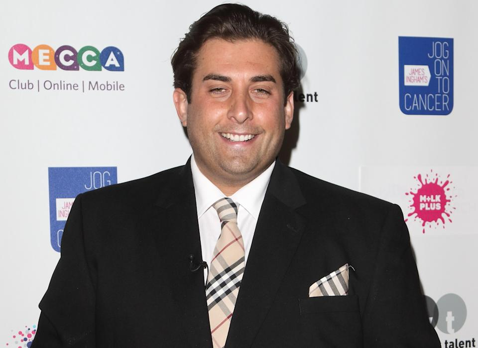 James Argent said he reached 23 and a half stone at the start of the year. (Getty Images)