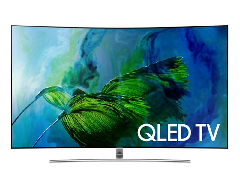 It's an advanced version of an LED TV, where the Q refers to the fact that this uses a layer of nano-sized particles called Quantum Dots