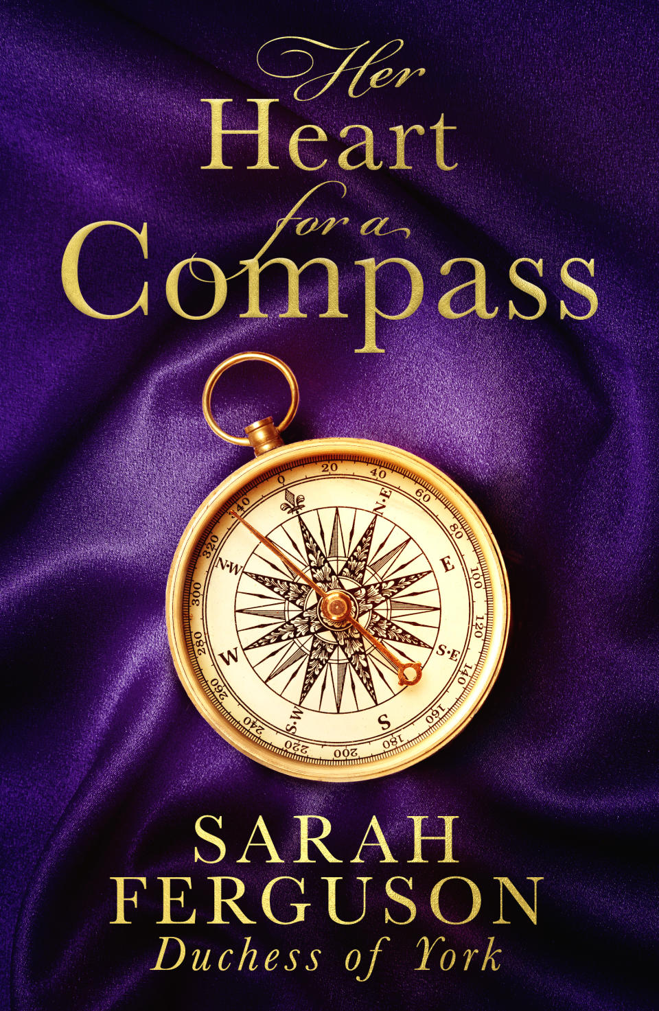 The novel will be called 'Her Heart for a Compass'