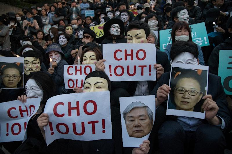 Korean Air chairman Cho dies weeks after ouster from board
