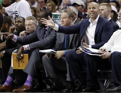 Kidd had no coaching experience before the Nets hired him. (AP)