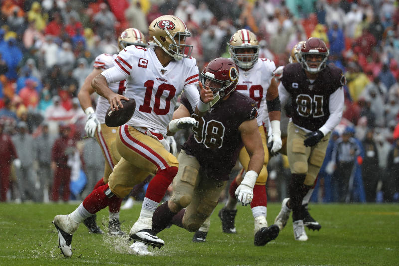 49ers Eye 7 0 Start With Streaking Panthers In Way