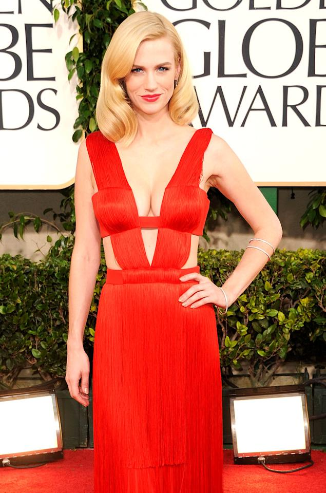 """Mad Men"" star January Jones turns 34 on January 5."