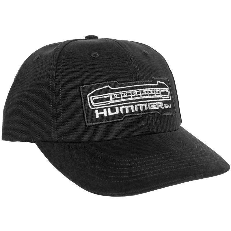 "<p><strong>Just Don</strong></p><p>justdon.com</p><p><strong>$125.00</strong></p><p><a href=""https://justdon.com/products/gmc-hummer-ev-hat"" rel=""nofollow noopener"" target=""_blank"" data-ylk=""slk:Shop Now"" class=""link rapid-noclick-resp"">Shop Now</a></p><p>Don C. is back at it again, this time with a collaborative cap designed to evoke the grill of a Hummer.</p>"