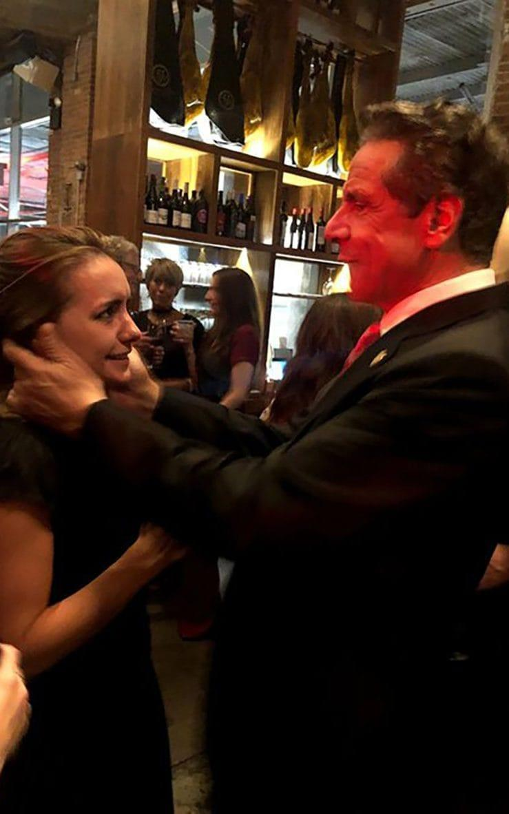 Mr Cuomo is alleged to have sexually harassed Anna Ruch at an event in New York